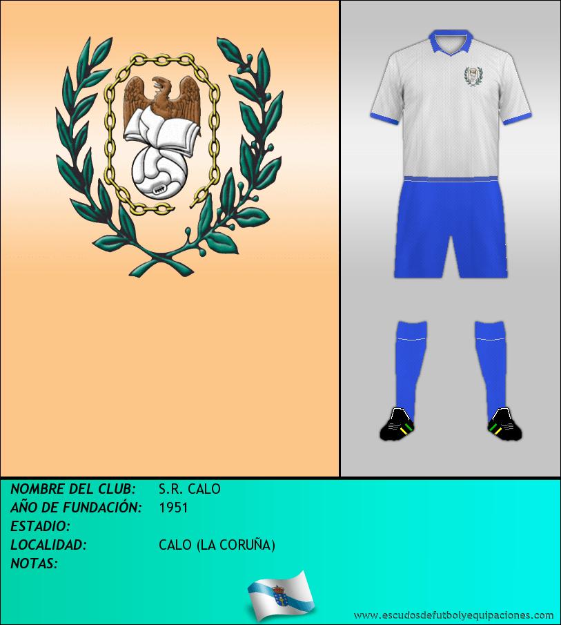 Escudo de S.R. CALO