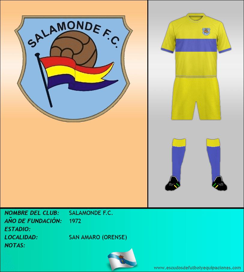 Escudo de SALAMONDE F.C.