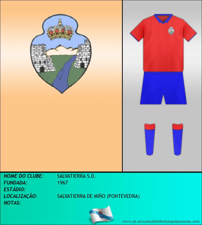 Escudo de SALVATIERRA S.D.