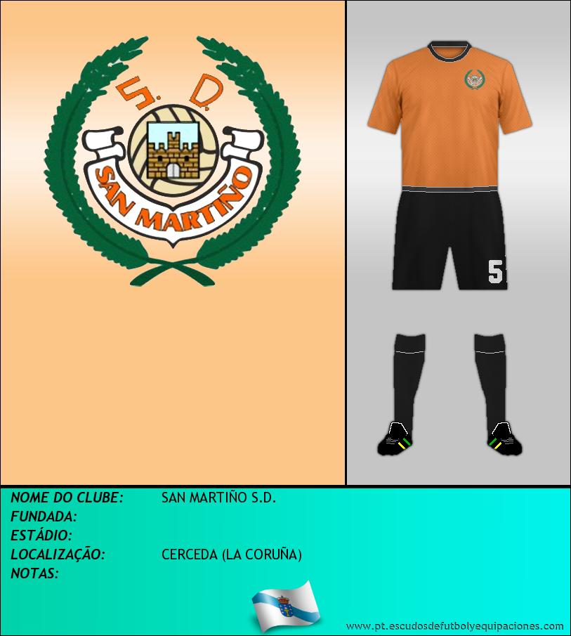 Escudo de SAN MARTIÑO S.D.