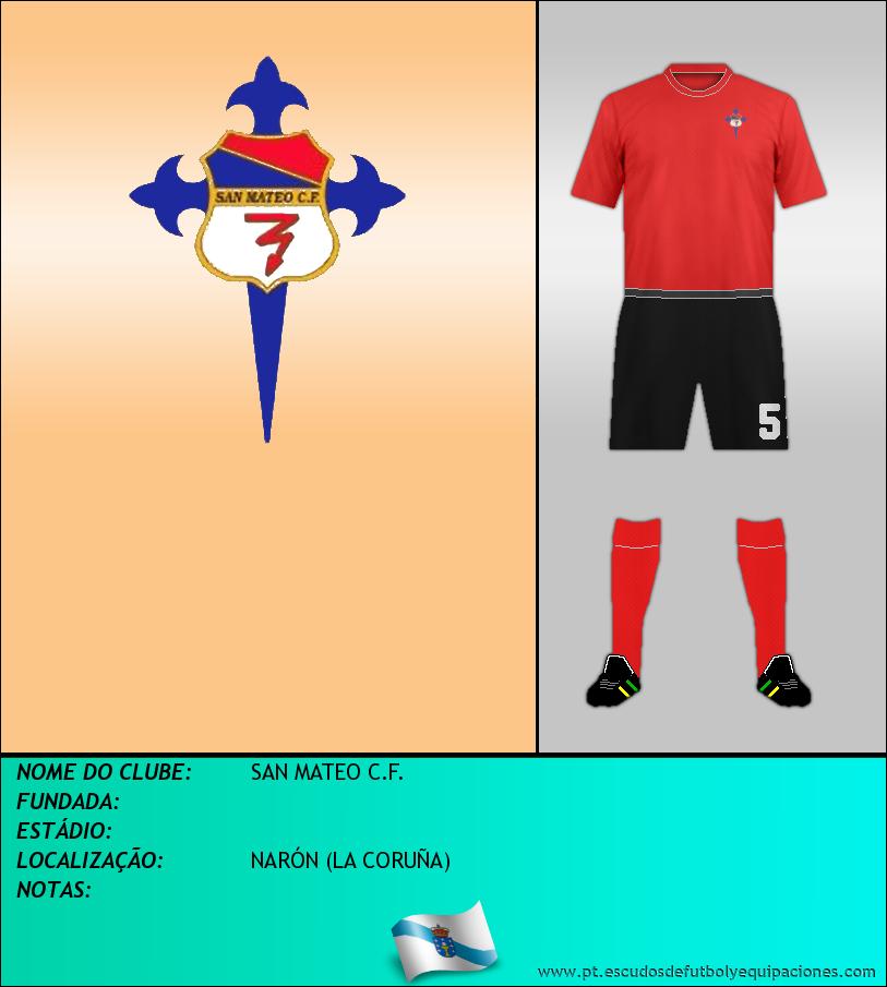 Escudo de SAN MATEO C.F.