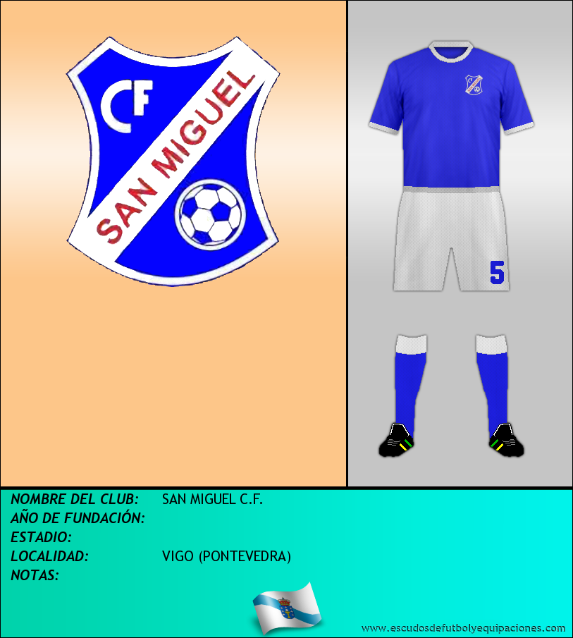 Escudo de SAN MIGUEL C.F.
