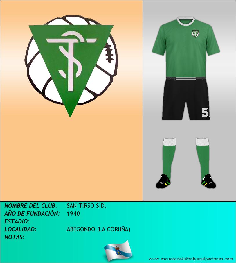 Escudo de SAN TIRSO S.D.