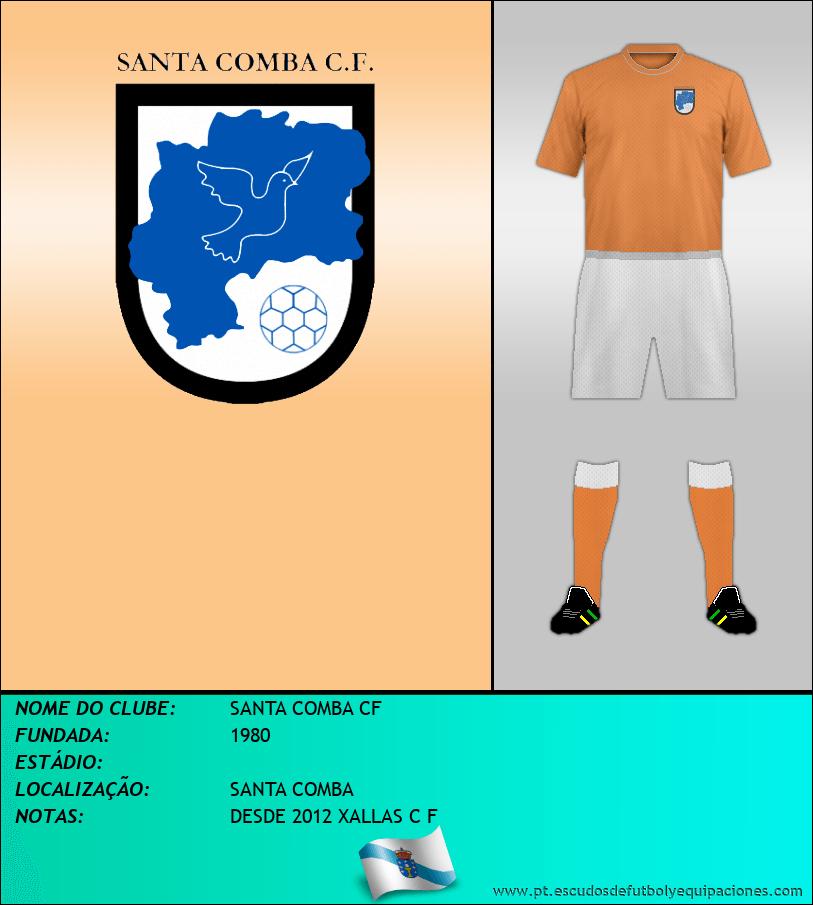 Escudo de SANTA COMBA CF