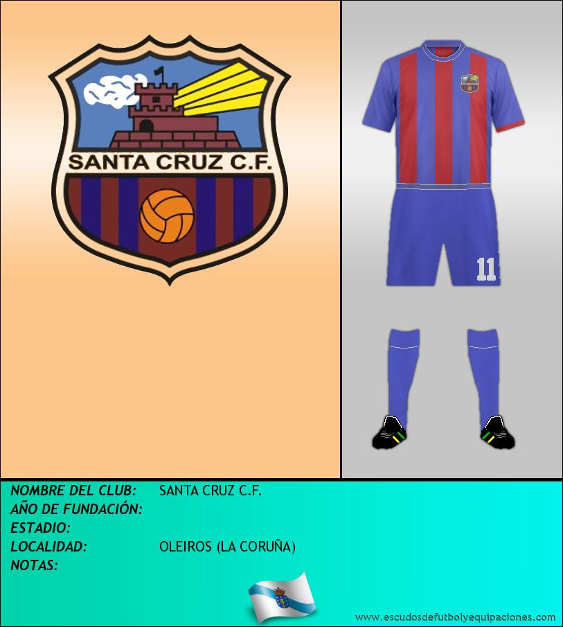 Escudo de SANTA CRUZ C.F.