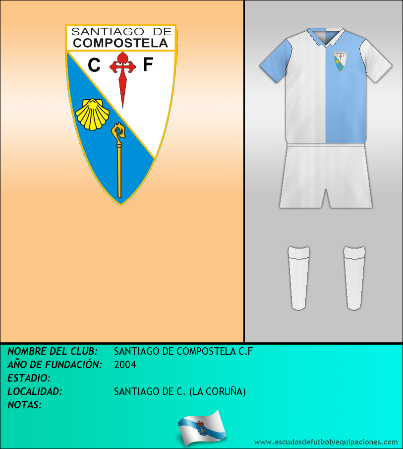 Escudo de SANTIAGO DE COMPOSTELA C.F