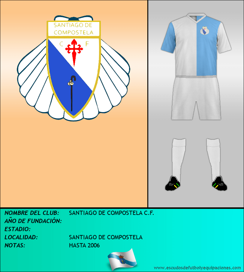 Escudo de SANTIAGO DE COMPOSTELA C.F.