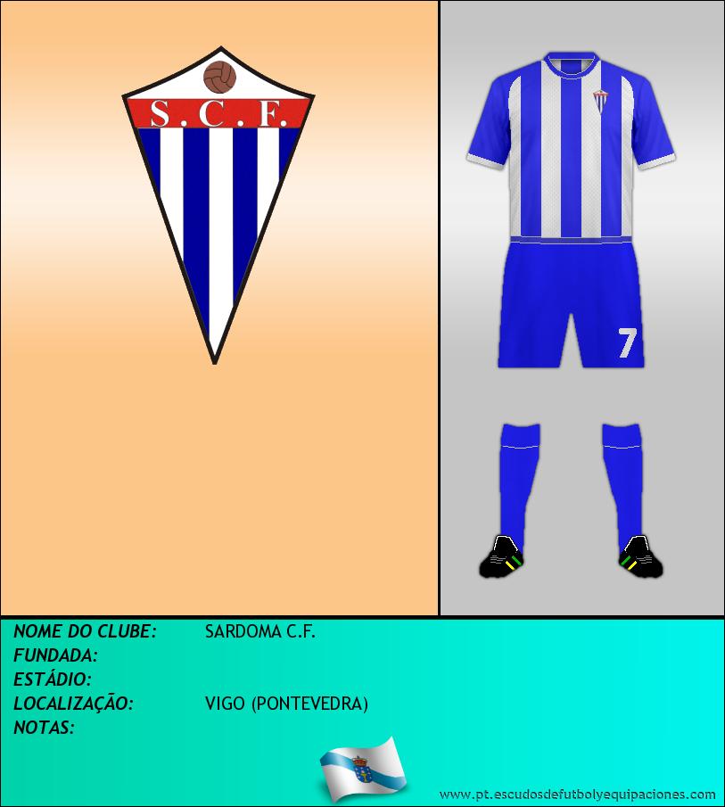 Escudo de SARDOMA C.F.