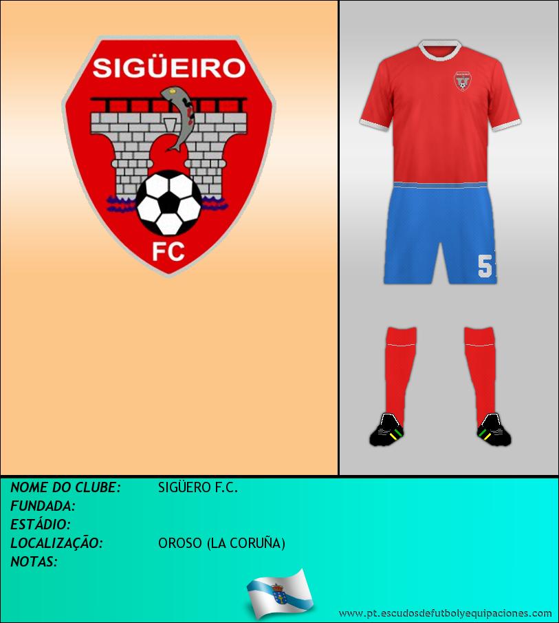 Escudo de SIGÜERO F.C.