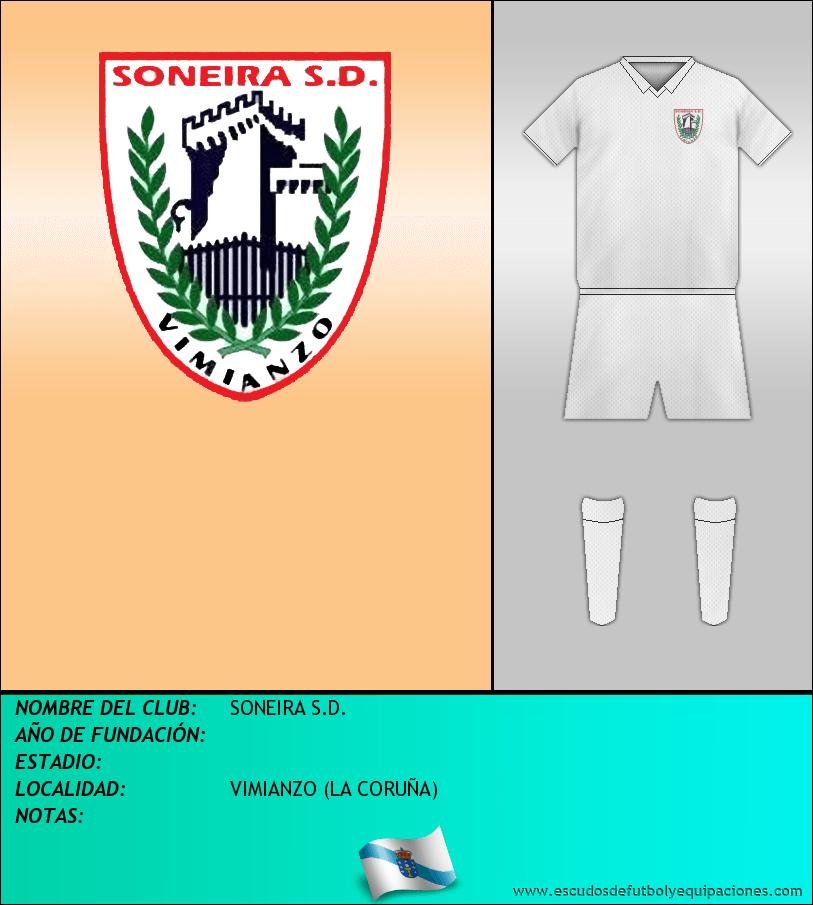 Escudo de SONEIRA S.D.
