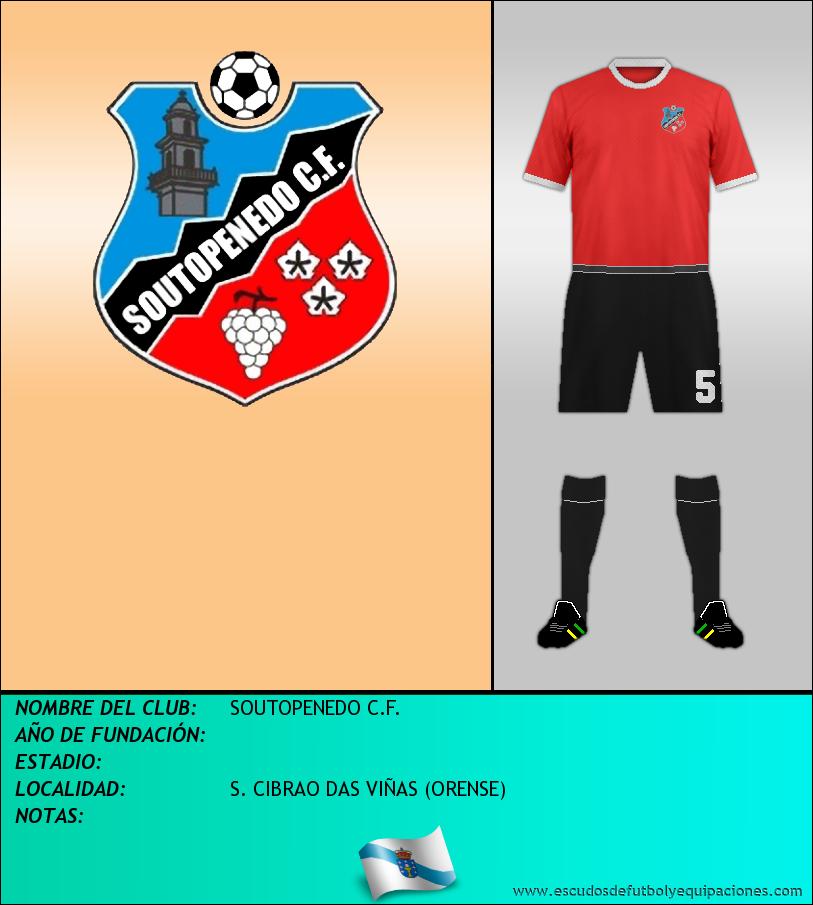 Escudo de SOUTOPENEDO C.F.