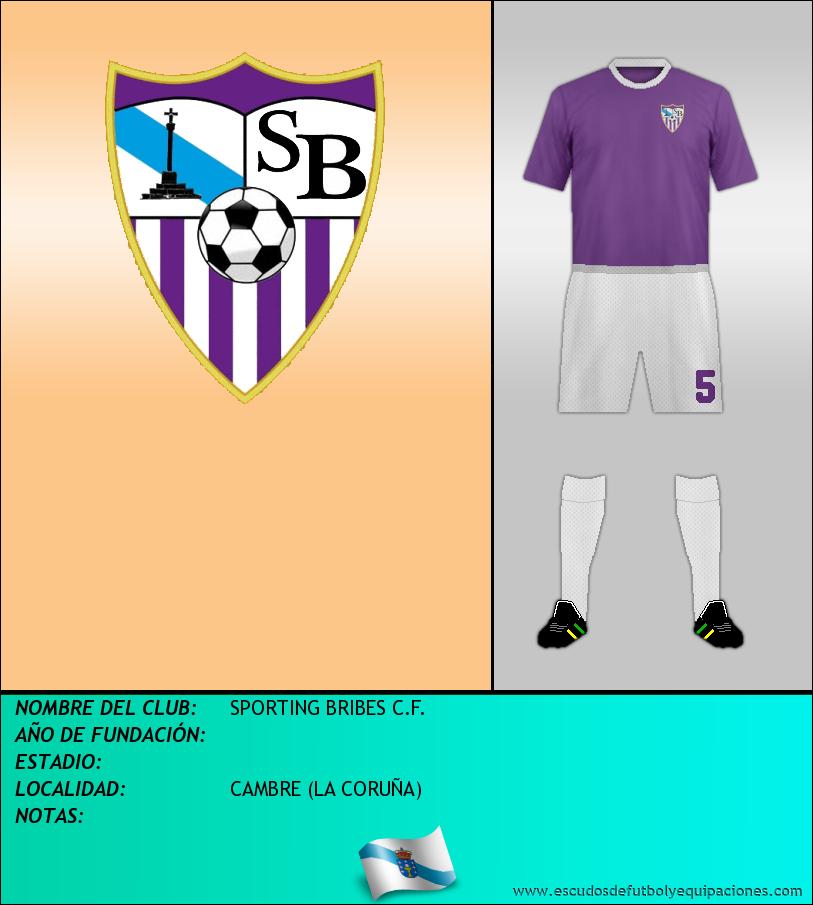 Escudo de SPORTING BRIBES C.F.