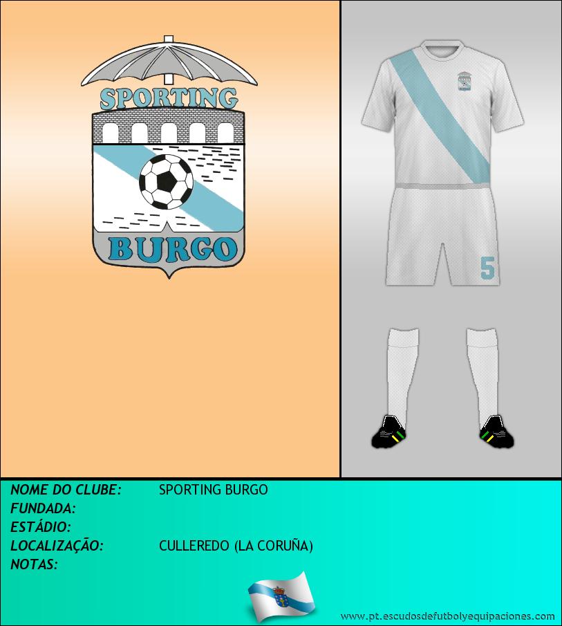 Escudo de SPORTING BURGO