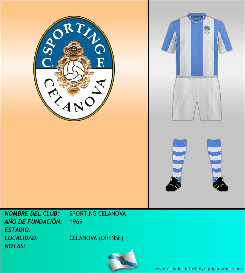 Escudo de SPORTING CELANOVA