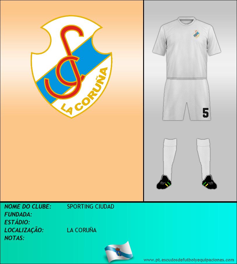 Escudo de SPORTING CIUDAD