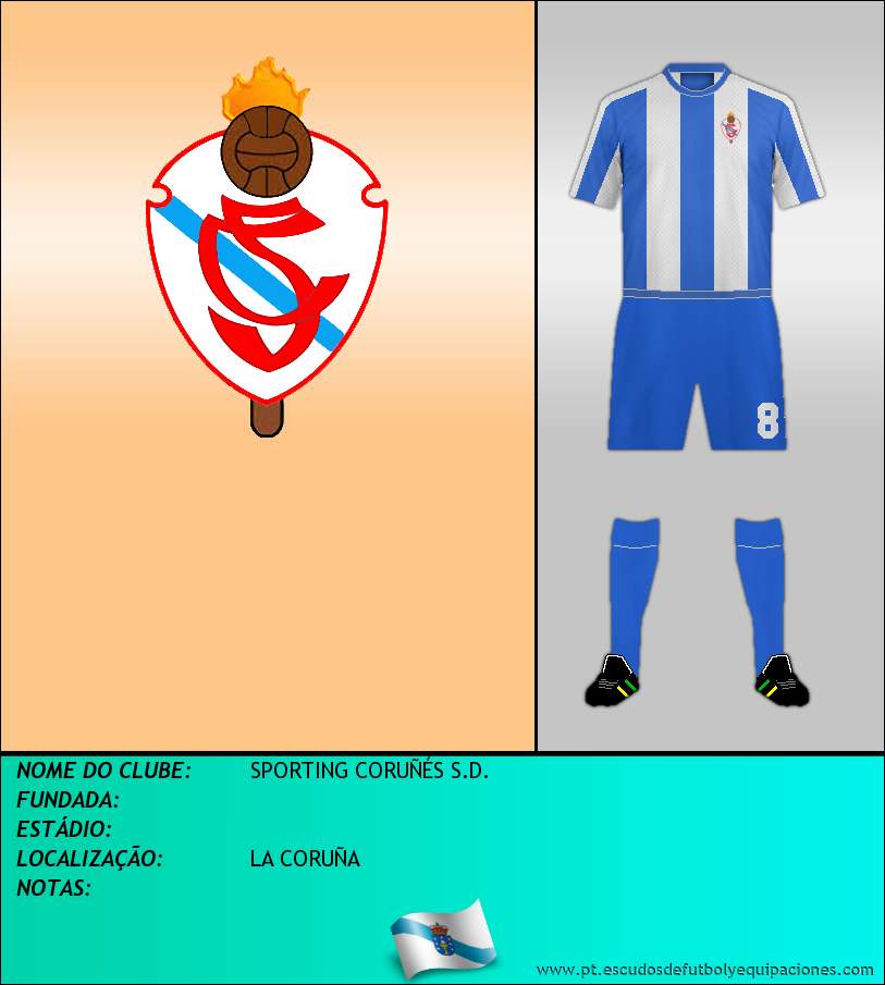 Escudo de SPORTING CORUÑÉS S.D.