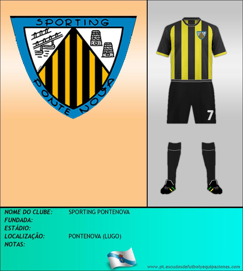 Escudo de SPORTING PONTENOVA