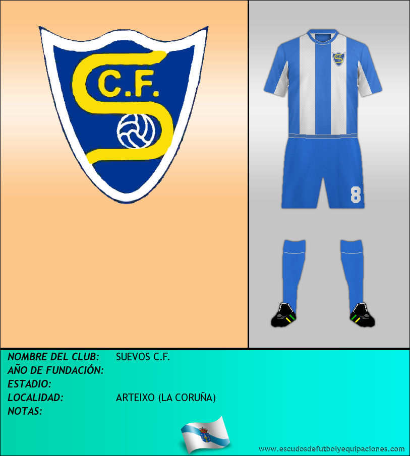 Escudo de SUEVOS C.F.