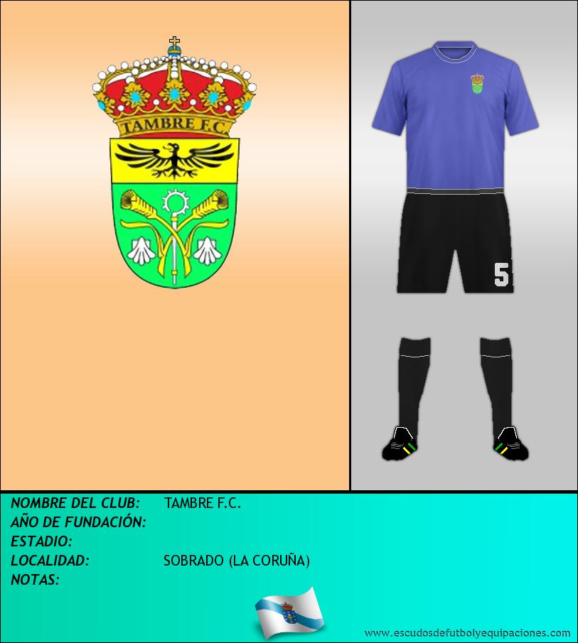 Escudo de TAMBRE F.C.