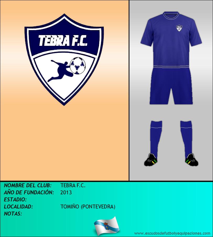 Escudo de TEBRA F.C.
