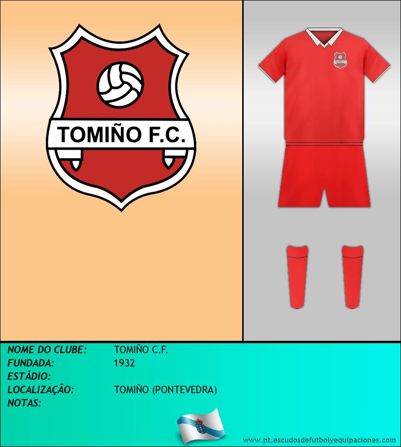Escudo de TOMIÑO C.F.
