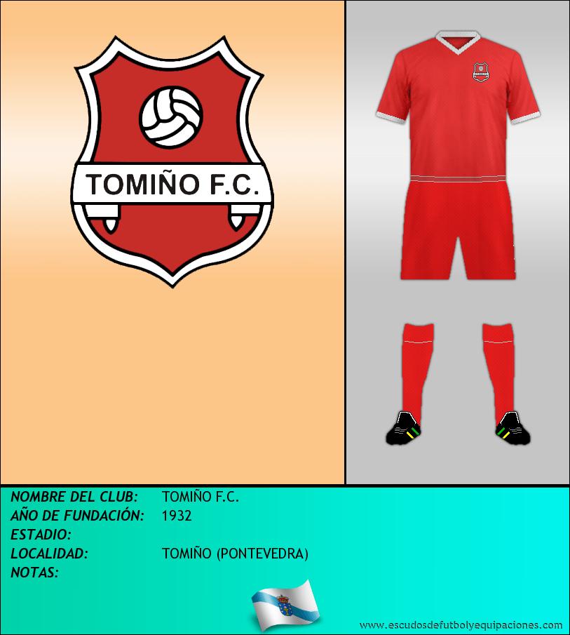 Escudo de TOMIÑO F.C.