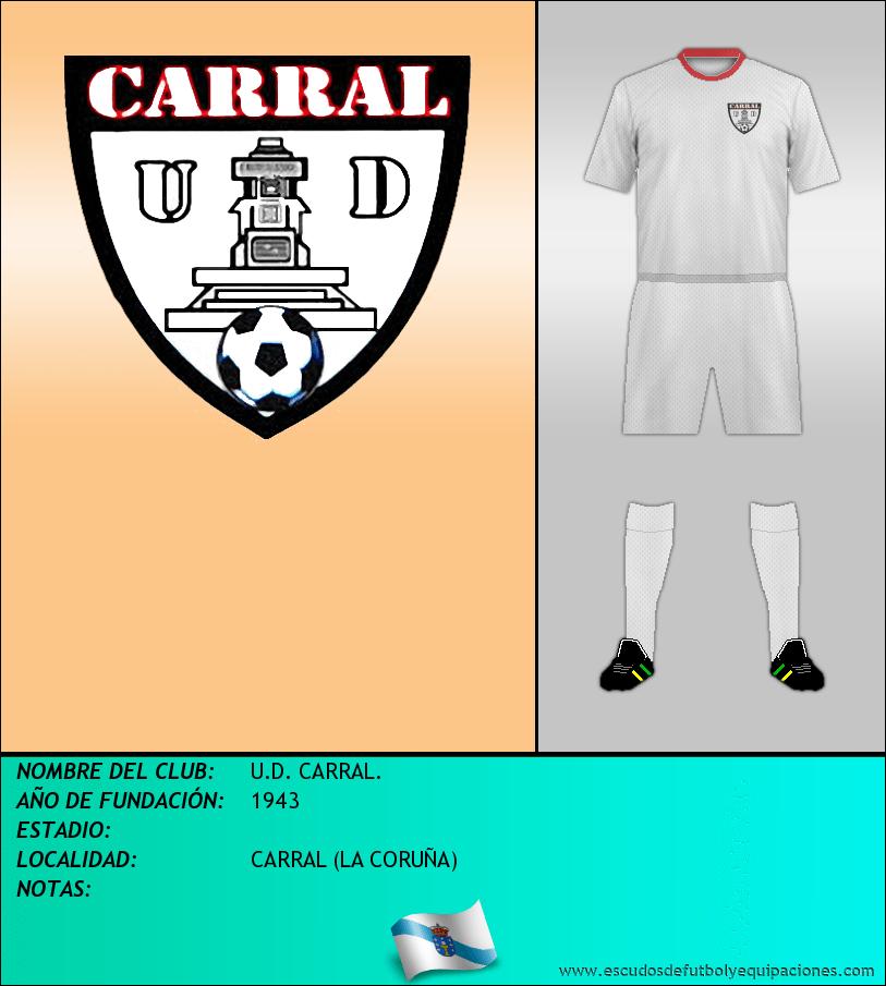 Escudo de U.D. CARRAL.