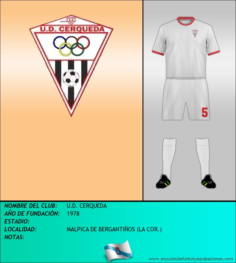 Escudo de U.D. CERQUEDA