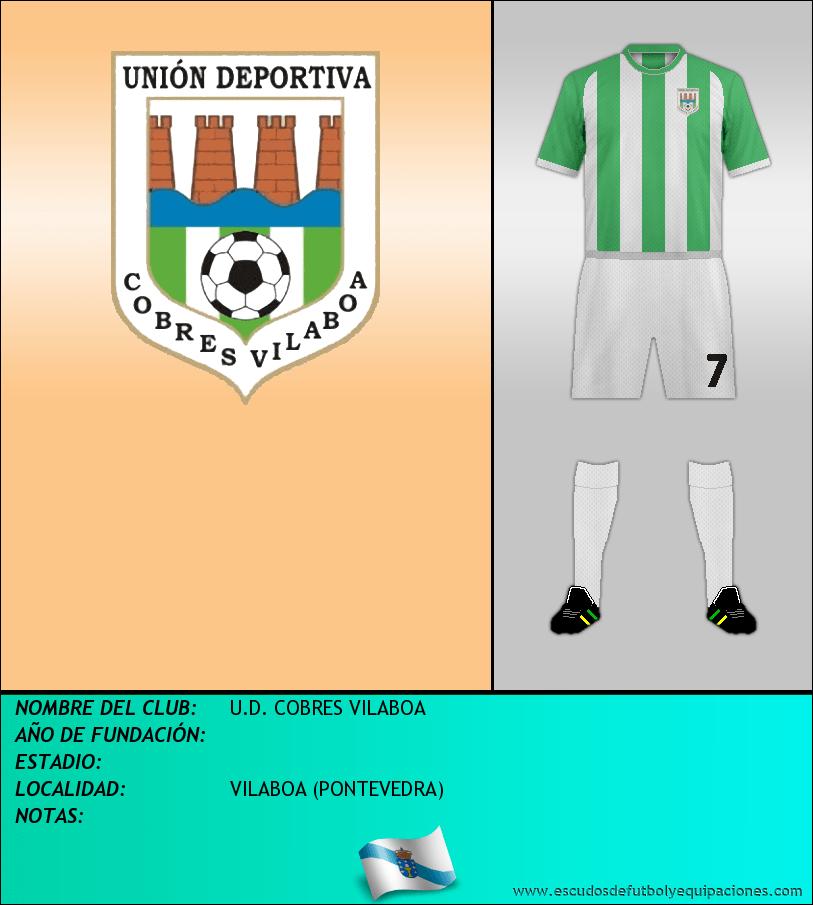 Escudo de U.D. COBRES VILABOA