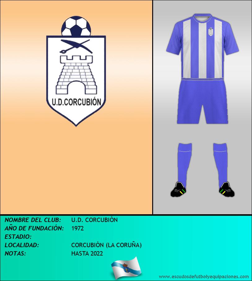 Escudo de U.D. CORCUBIÓN