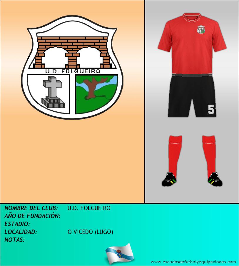 Escudo de U.D. FOLGUEIRO