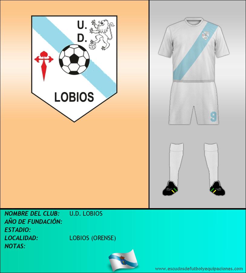 Escudo de U.D. LOBIOS