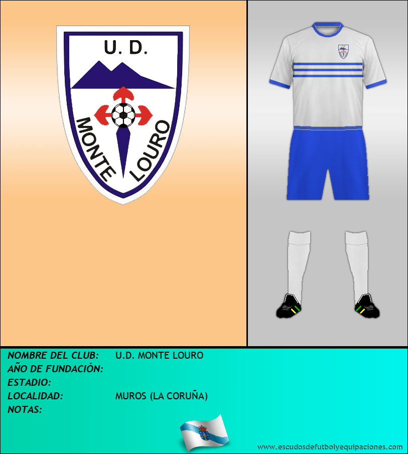 Escudo de U.D. MONTE LOURO