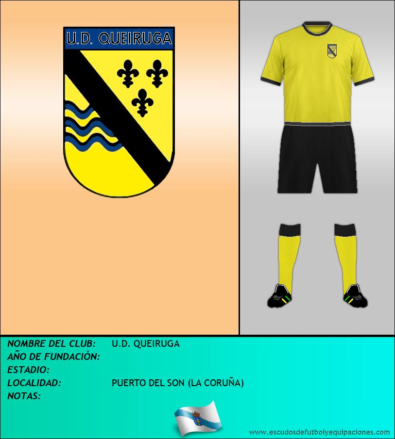 Escudo de U.D. QUEIRUGA