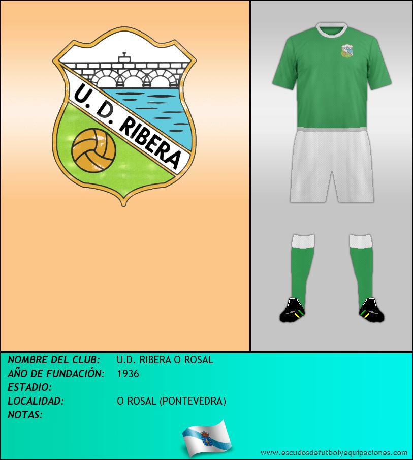 Escudo de U.D. RIBERA O ROSAL