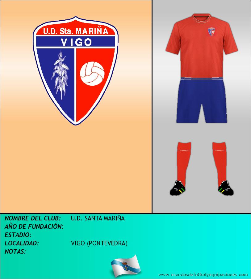 Escudo de U.D. SANTA MARIÑA