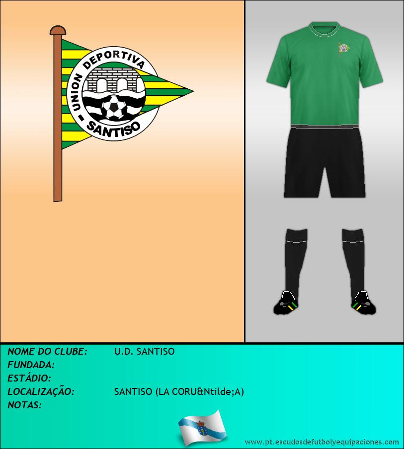 Escudo de U.D. SANTISO