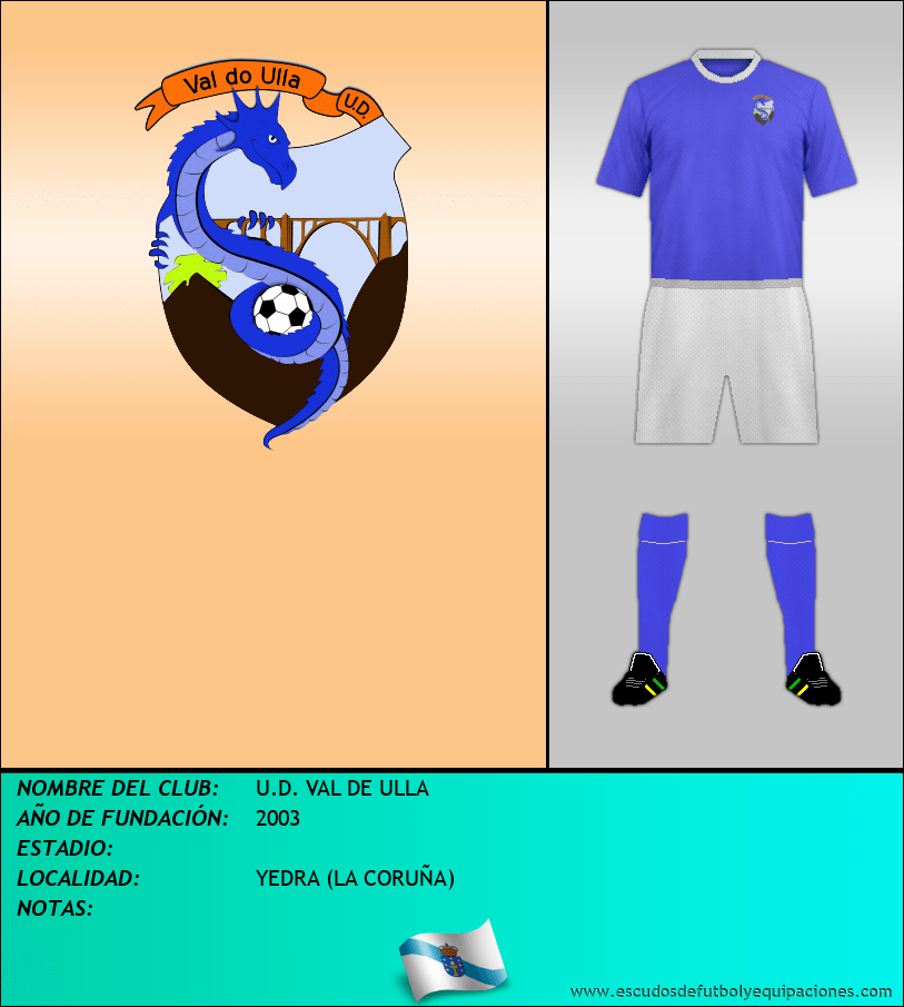 Escudo de U.D. VAL DE ULLA