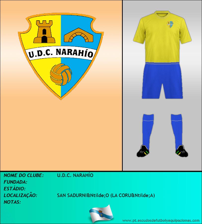 Escudo de U.D.C. NARAHÍO