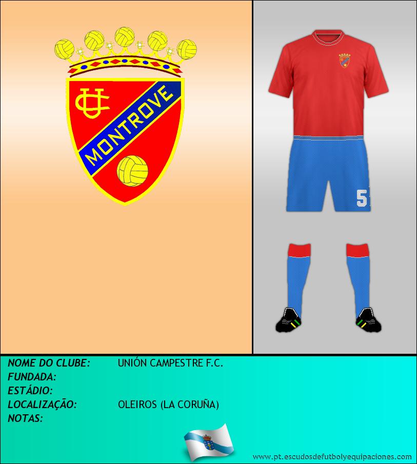 Escudo de UNIÓN CAMPESTRE F.C.