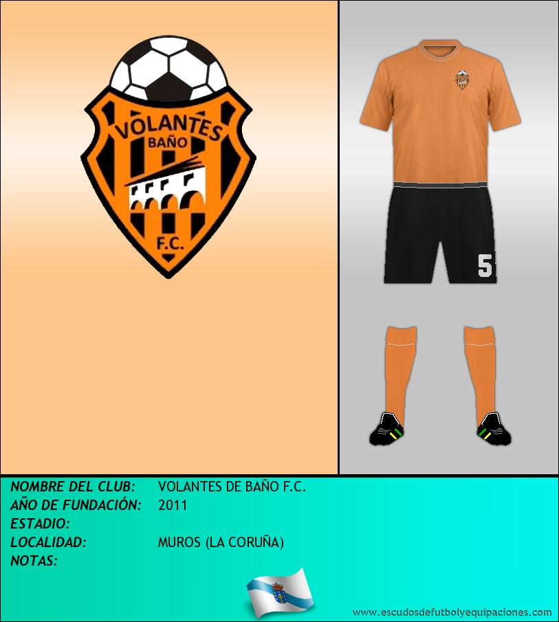 Escudo de VOLANTES DE BAÑO F.C.