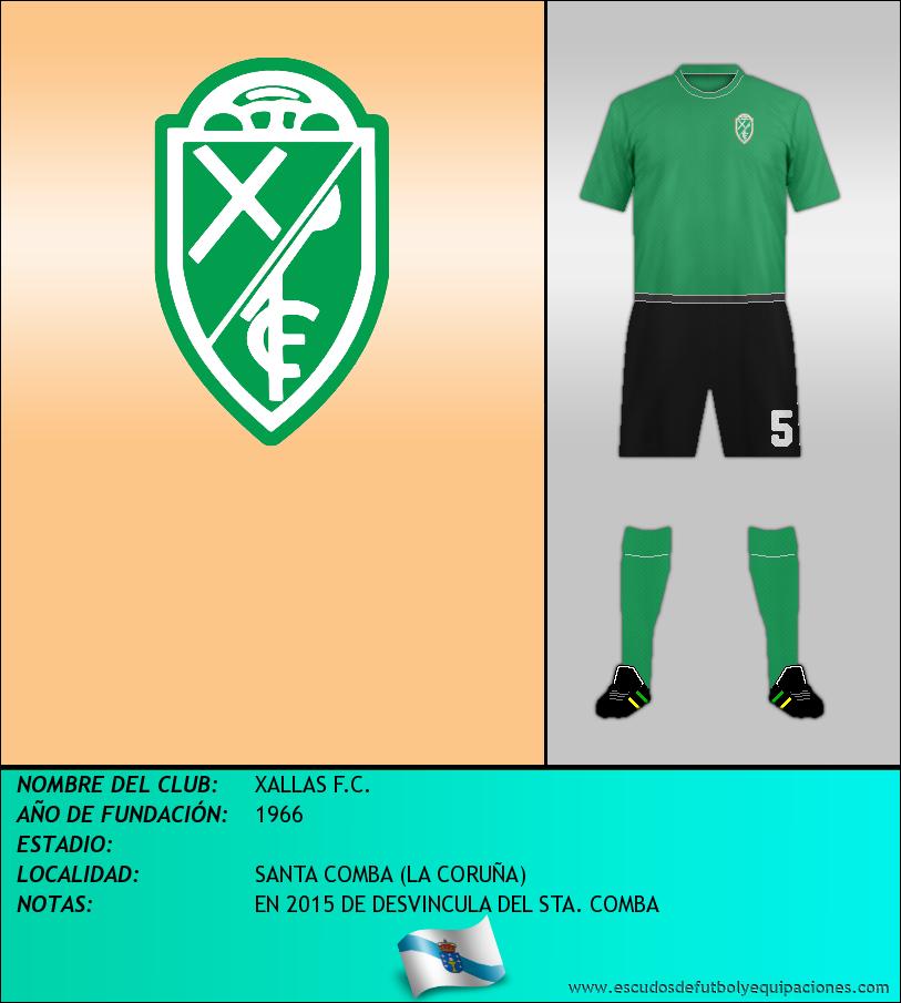 Escudo de XALLAS F.C.