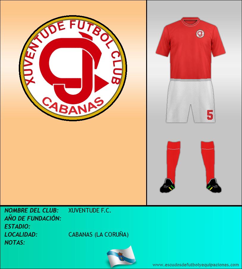 Escudo de XUVENTUDE F.C.