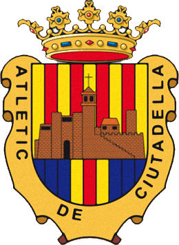 Escudo de ATLÉTIC DE CIUTADELLA (ISLAS BALEARES)