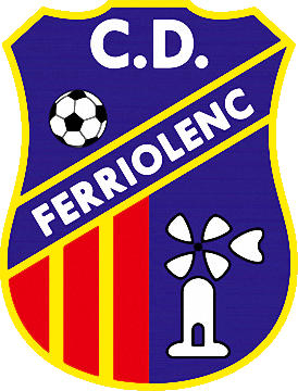 Escudo de C.D. FERRIOLENSE  (ILHAS BALEARES)