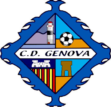 Escudo de C.D. GENOVA (ISLAS BALEARES)