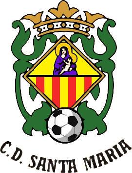 Escudo de C.D. SANTA MARÍA (ISLAS BALEARES)