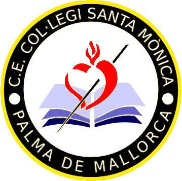 Escudo de C.E. COL-LEGI SANTA MÓNICA (ISLAS BALEARES)