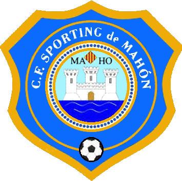 Escudo de C.F. SPORTING DE MAHÓN (ISLAS BALEARES)