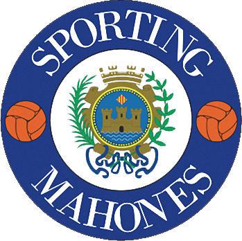 Escudo de C.F. SPORTING MAHONÉS (ISLAS BALEARES)